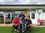 Stony Cricket Legend Steve Bellew raises an incredible £8,600 for the Life for Lewis Appeal