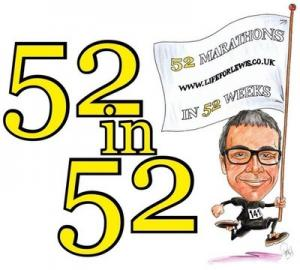 52 marathons in 52 weeks for my 18th year.