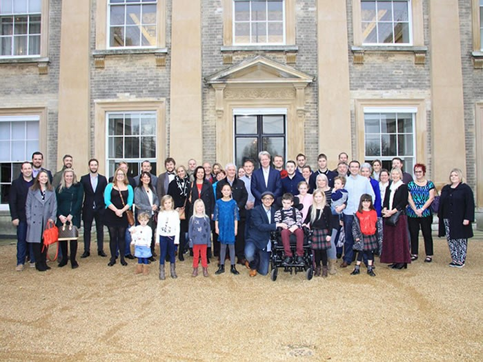 Incredibly special day at Althorp House. <br>