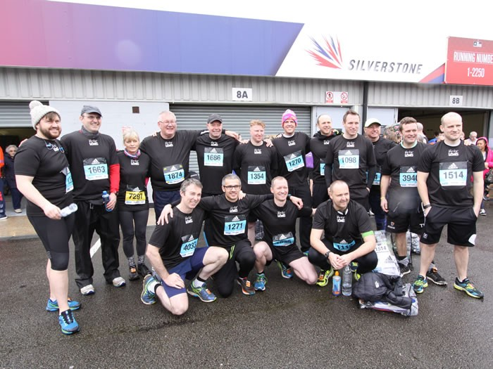 Running the Silverstone Half Marathon on 12th February 2017