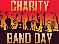 Charity Band Day at Old White Hart Northampton 27th August 2017