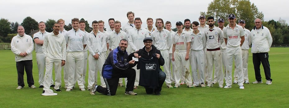 Rushton Cricket Club 2015 Season Points means Donations