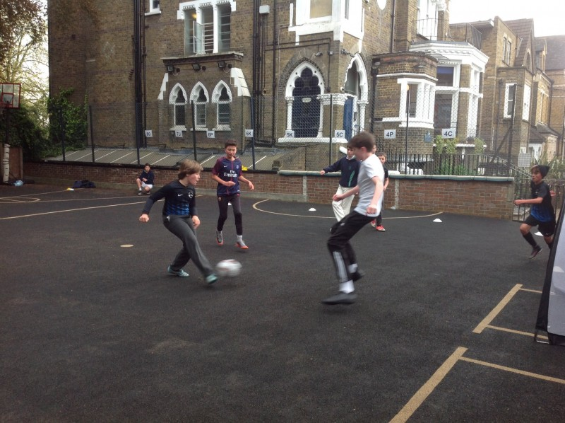 St. Anthony's School 3-a-side Football Tournament