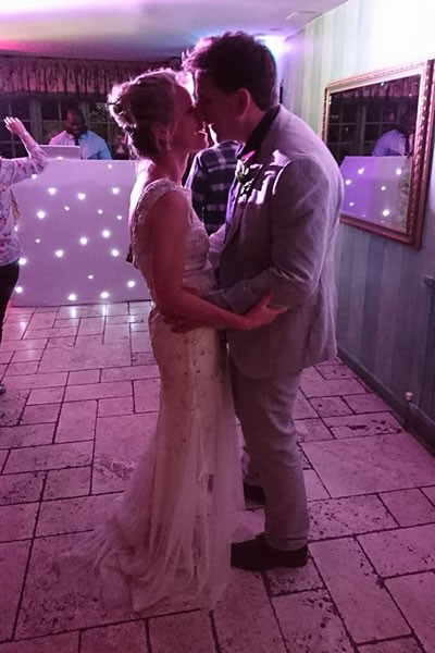 On their wedding day!, Bill and Tina Scott raise an incredible £800 for the Life for Lewis appeal